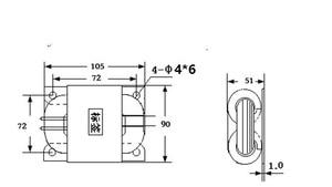 Image 4 - HIFI หลอด Preamplifier หลอด Phono Transformer เอาต์พุต: 0 260V (0.1A), 0 12.6V (3A),0 6.3 V (3A) r ประเภทหม้อแปลงไฟฟ้า