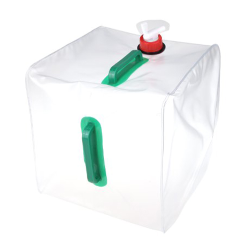 JHO-20L 5.3 Gallon Portable Water Carrier Fällbar vattenförvaringsbehållare för Camping Vandringsklättring
