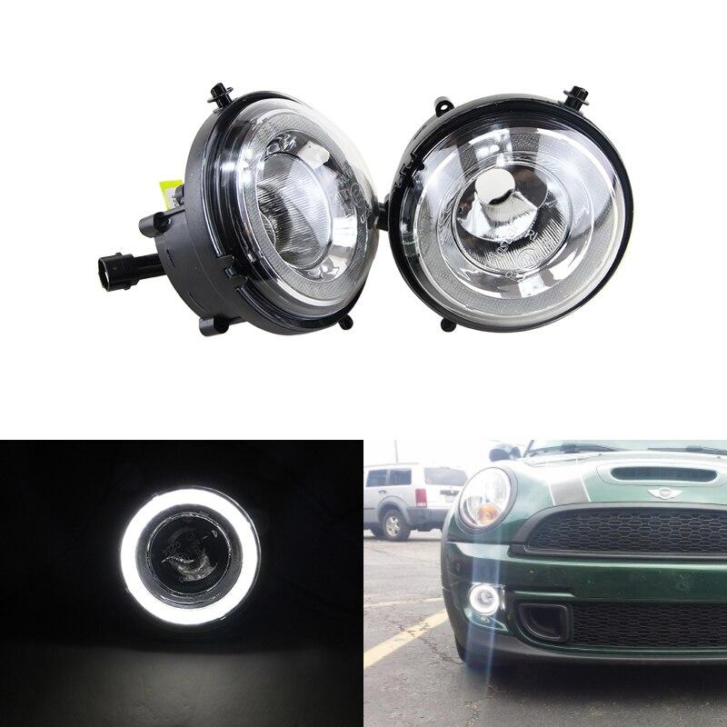 Led DRL Brouillard Lumières Pour Mini Cooper Daylights E4 CE Led Feux de jour Running Light Lampe Pour R55 R56 R57 R58 R59 R60 R61 Ultra blanc