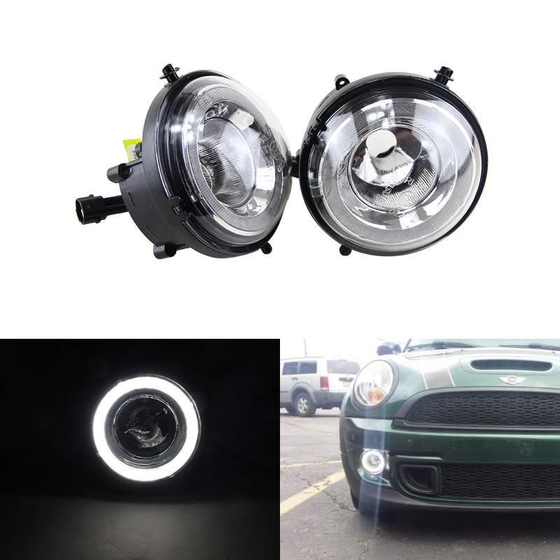 цена на Led DRL Fog Lights For Mini Cooper Daylights E4 CE Led Daytime Running Light Lamp For R55 R56 R57 R58 R59 R60 R61 Ultra White