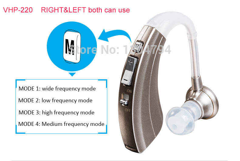 2018NEWEST!4 Mode Durable Noise Reduction Digital Hearing Aids aid loss elderly Wireless one battery for 600hours long time use guangzhou feie deaf rechargeable hearing aids mini behind the ear hearing aid s 109s free shipping