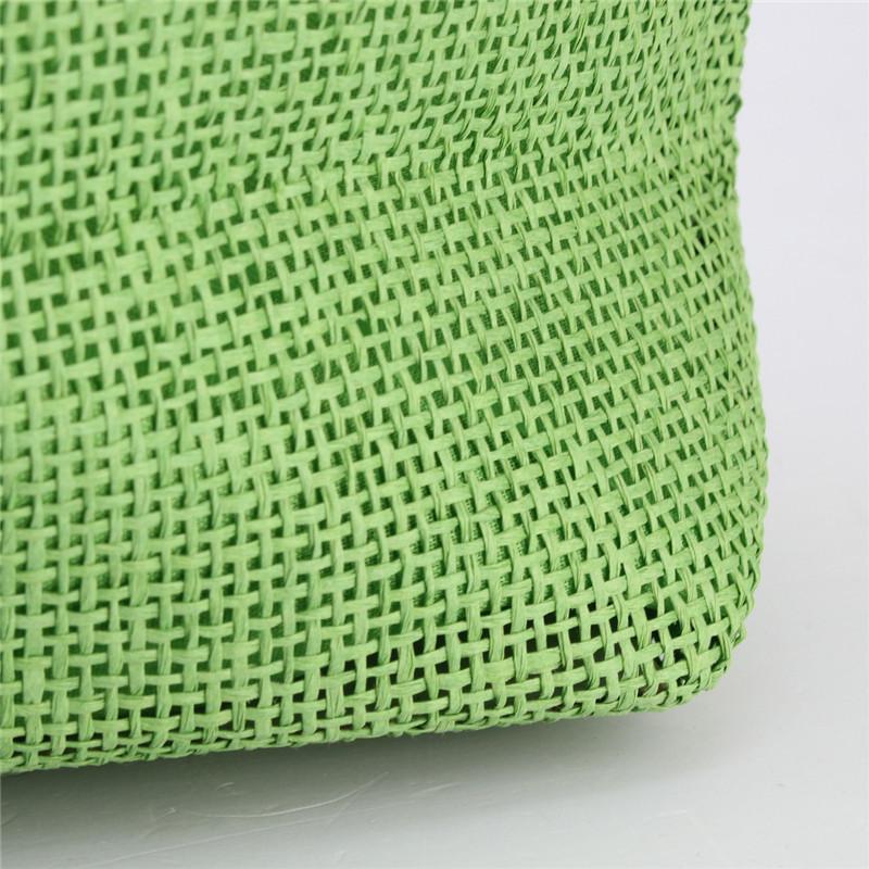 2017 Hot New Design Straw Popular Summer Style Weave Woven Shoulder Tote Shopping Beach Bag Purse Handbag Gift FreeShipping N770 16