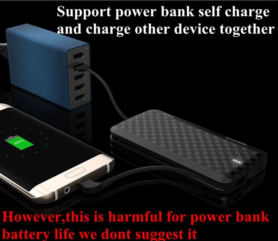 Banco do Poder galaxy s8 Tipo : Emergencial / Portátil