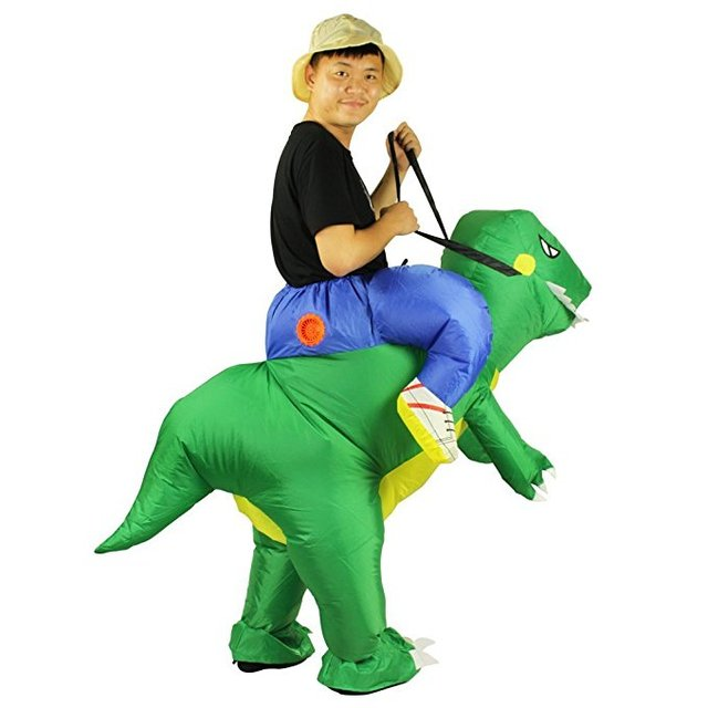 Inflatable Dinosaur Costume Kids Girls Boys Suits Animal Themed Funny Inflatable Costume Halloween Costume For Kids  sc 1 st  AliExpress.com & Inflatable Dinosaur Costume Kids Girls Boys Suits Animal Themed ...