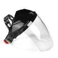 New Transparent Lens Anti UV Anti Shock Welding Helmet Face Shield Solder Mask Face Eye Protect