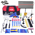 Super PDR Hand Tool Sets Dent Lifter Kit Glue Puller Paintless Dent Repair Tool Bag Hail Removal 68pcs Hand Tool Sets