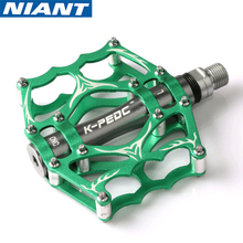 цена на High Quality Mountain Bike Pedals MTB Road Cycling Sealed Bearing Pedals BMX Ultra-Light Bicycle Pedals