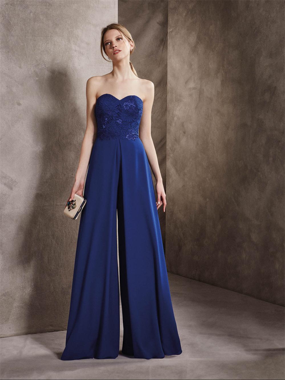 Стильные длинные шифоновые вечерние платья