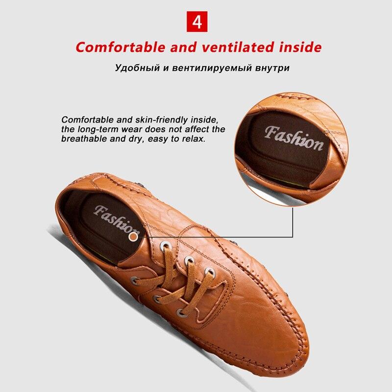 4998b2023d Deporte 8890brown Gran Zapatos Marca Genuino Para Mocasines brown ...
