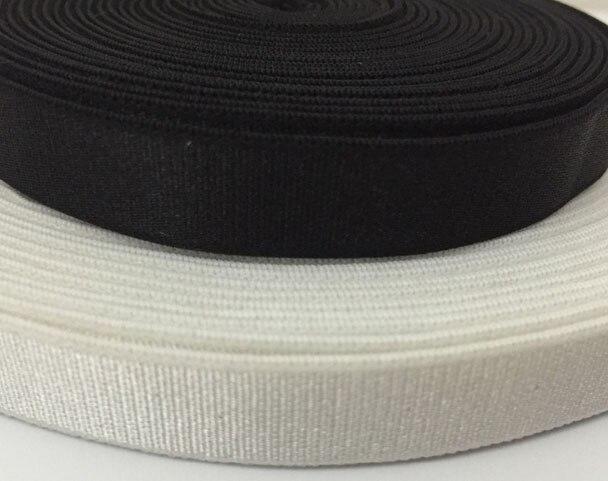 Gratis frakt topp kvalitet 10 meter 12mm bra elastisk tejp - Konst, hantverk och sömnad