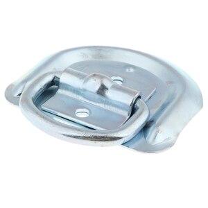 Image 5 - 1 шт. сварное D образное кольцо, зажимные анкеры, высокопрочные металлические D образные кольца со сварочными зажимами для прицепа, грузовика, автофургона, вездехода и т. д.