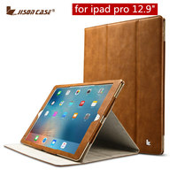 Jisoncase PU Leather For IPad Pro Case Luxury Brand Tablet Protective Cover For IPad Pro Stand