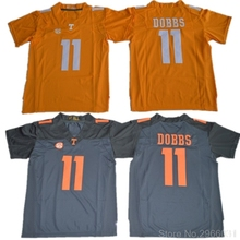 ae2171ac535 Tennessee Volunteers Joshua Dobbs 11 College Limited Jersey - White Black  Orange Stitched Size S-