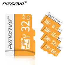 Memory card C10 8gb 16gb 32gb 64gb 128GB micro sd card flash usb pendrive microsd card 4gb C6 cartao de memoria gift(China)