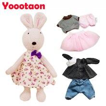 Original Le sucre bunny rabbit plush dolls & stuffed Kawaii brinquedos toys hobbies for children girls stuffed kids baby toys