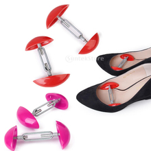 1 pair Adjustable Shoes Extenders Mini Stretchers Width Extender Shapers Bunion Corn Blister Relief Shoe Support 1 pair shoes trees expanding wide of shoes flats support device shoes trees adjustable shoe stretchers for women zh541