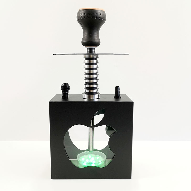 Narguilé en verre de Style arabe Transparent de petite taille énorme vaporisateur Chicha Chicha narguilé fumer des conduites d'eau