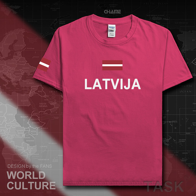 Latvia Latvija men t shirts fashion jerseys nation team 100 cotton t-shirt clothing tees country sporting flag Latvian LVA