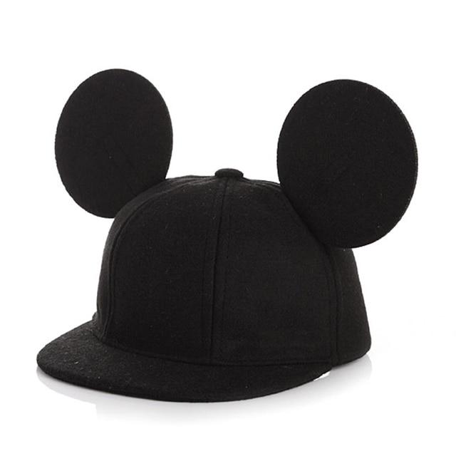 MOLIXINYU New Design Baseball Cap for Kids Cute Snapback Hat Children Caps For Boy/Girl Outdoor Sport Baby Ears Hats gorras