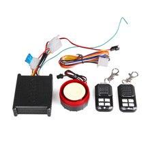 12 v Sensor de Vibración de Alarma de Seguridad Seguridad de La Motocicleta Universal de Coche con Sistemas de Alarma con 2 Teledirigidos Envío Libre