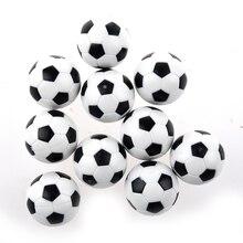 LGFM-10pcs 32 мм пластиковый футбольный стол для футбольного мяча