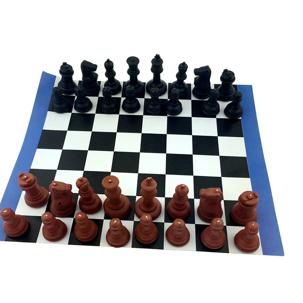 High Quality Chess Game Set International Chess wi/ 180mm Chessboard Table Game Toy Christmas Gift Kids Toy Great Table Game