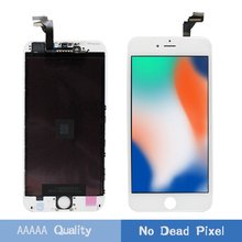 LEOLEO AAAAA White&Black LCD Display For iPhone 6 Plus 6+ 5.5 Screen 6Plus Touch Digitizer Assembly+Gift