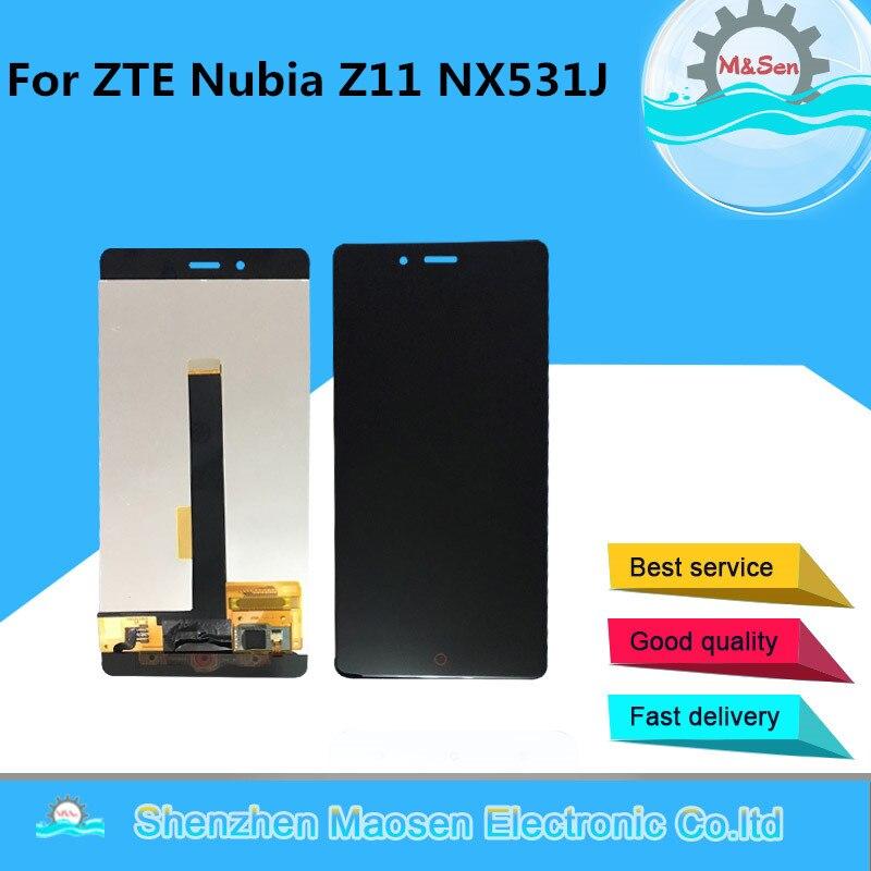 M & Sen Pour 5.5 ZTE Nubia Z11 NX531J Lcd écran affichage + Écran Tactile digitizer pour Nubia Z11 NX531J affichage + outils