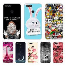 TPU Soft Case for Huawei Honor 7X Case Silicone Printing Cover for Huawei Honor 7X Cover Coque for Huawei Honor 7 X Phone Case все цены