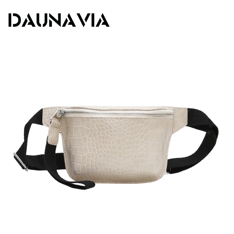 DAUNAVIA Women Bag Crocodile Multicolor Messenger Chest Bag Clutch Female Pu Leather Handbag Cross Body Bag Fashion High Quality