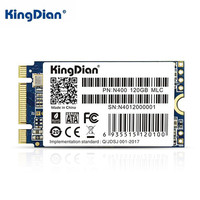 KingDian 64G 120G Internal Solid State Drive Hard Disk For Laptop Ultra Thin Upgrade M.2 NGFF SSD Disk For Lenovo ASUS