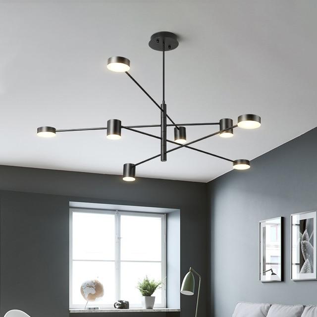 Modern LED Chandeliers Ceiling Nordic Pendant Indoor Lamps For Living Room  Restaurant Bedroom Chandelier Lighting Lampadari
