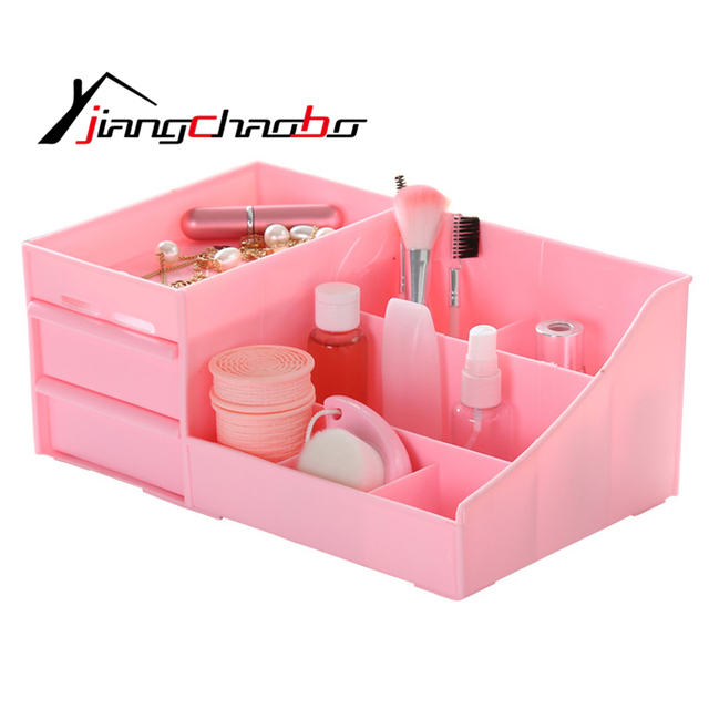 PP Storage Box Jewelry Container Makeup Organizer Case Handmade DIY Assembly Cosmetic Organizer PP Box For  sc 1 st  AliExpress.com & PP Storage Box Jewelry Container Makeup Organizer Case Handmade DIY ...