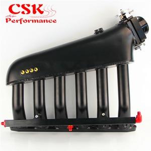 Image 4 - 黒インテークマニホールド + スロットルボディ + 燃料レールキットはめあい E36 E46 M50 M52 M54 325i 328i 323i M3 Z3 E39 528i