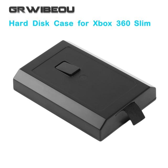 Computer security: transparent hard disk drive clip lock case xbox.