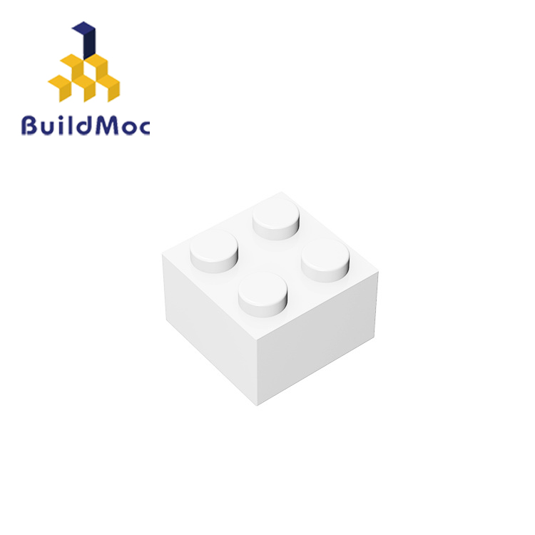 BuildMOC 6223 35275 3003 2x2 Technic Changeover Catch For Building Blocks Parts DIY  Educational Creative Gift Toys