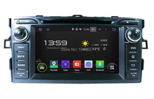 Quad Core 1024*600 Android 5.1 HD 2 din 7″ Car Radio dvd gps for Toyota Corolla 2012 With Mirror link 3G WIFI Bluetooth USB DVR