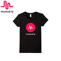 MUSICAL LY 2017 Original Classic 100 Cotton Short Sleeve Black Or White T Shirt For Men