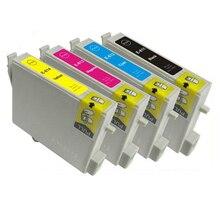 T0611 T0612 T0613 T0614 Чернильный Картридж Для Epson Stylus D68 D88 DX3800 DX3850 DX4800 DX4850 Принтера
