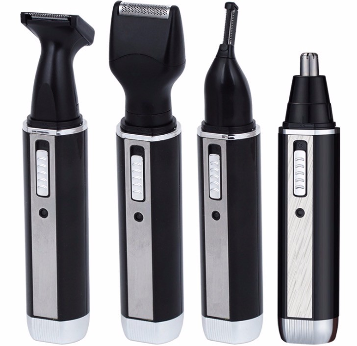4 in 1 Men\'s Grooming Set Electric Nose Trimmer, Eyebrow Trimmer, Bread Trimmer,Sideburm Trimmer1
