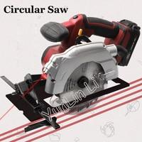 Handheld Wood Saw Electric Circular Saw Charging 18V Woodworking Tools Wood Cutting Machine Plastic Cutter TD8552