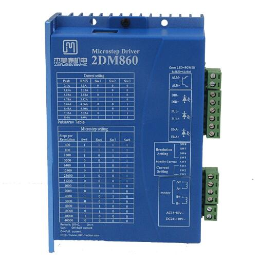 2DM860 digital stepper driver 86 stepper motor drive voltage AC30 80V