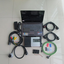 mb sd connect compact 5 star c5 with laptop z485 new ram 4g with ssd newest software full set diagnose all carble ready to use
