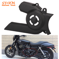 Motorcycle Plastic Pulley Sprocket Cover Guard For Harley Davidson Street XG750 XG 750 2015