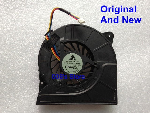 Original CPU Cooler Fan For ASUS X71 X71S X71SL N70 G71 G71GX G71G G72 G72X G72GX G72G G72GX-A1 X72 X72V KDB0705HB Thick 1.1cm