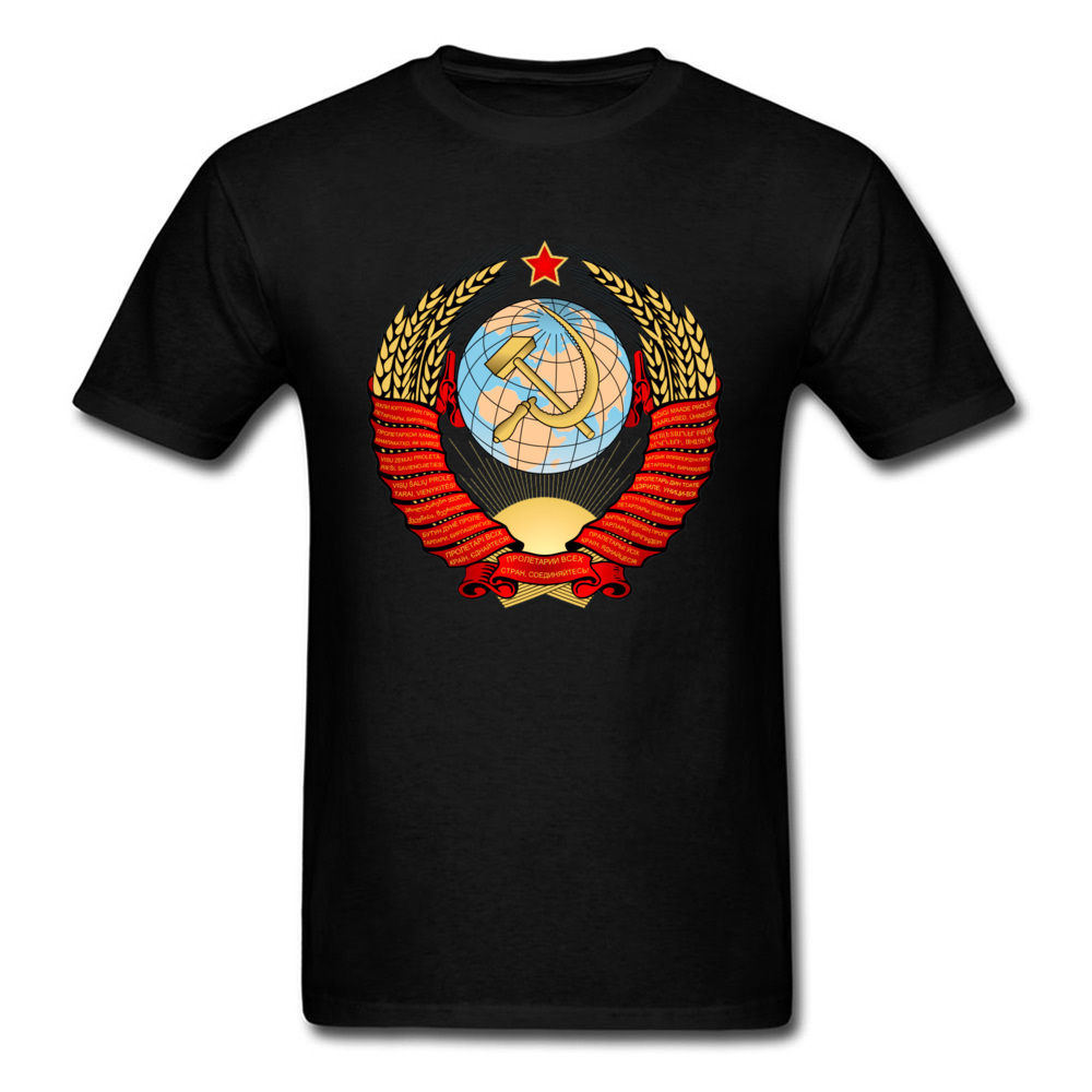 Men CCCP Tshirt USSR Soviet T Shirt I Love Russia T-shirt Global Space X Rocket Program Retro Tops Tees Cool Father Day Clothes