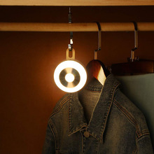 Motion Sensor LED Night Light USB Charged/Battery Operated Closet Light Wireless Cabinet IR Infrared Motion Detector Wall Lamp недорого