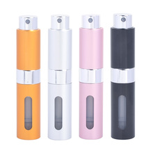 MUB Portable 8ml Aluminum Spray Parfum Empty Bottle Fashion Travel Mini Perfume Atomizer