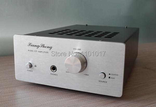 XiangSheng H 06A LM4766T 6J1 Tube Hybrid Amplifier HIFI EXQUIS Headphone Amp XSH06A