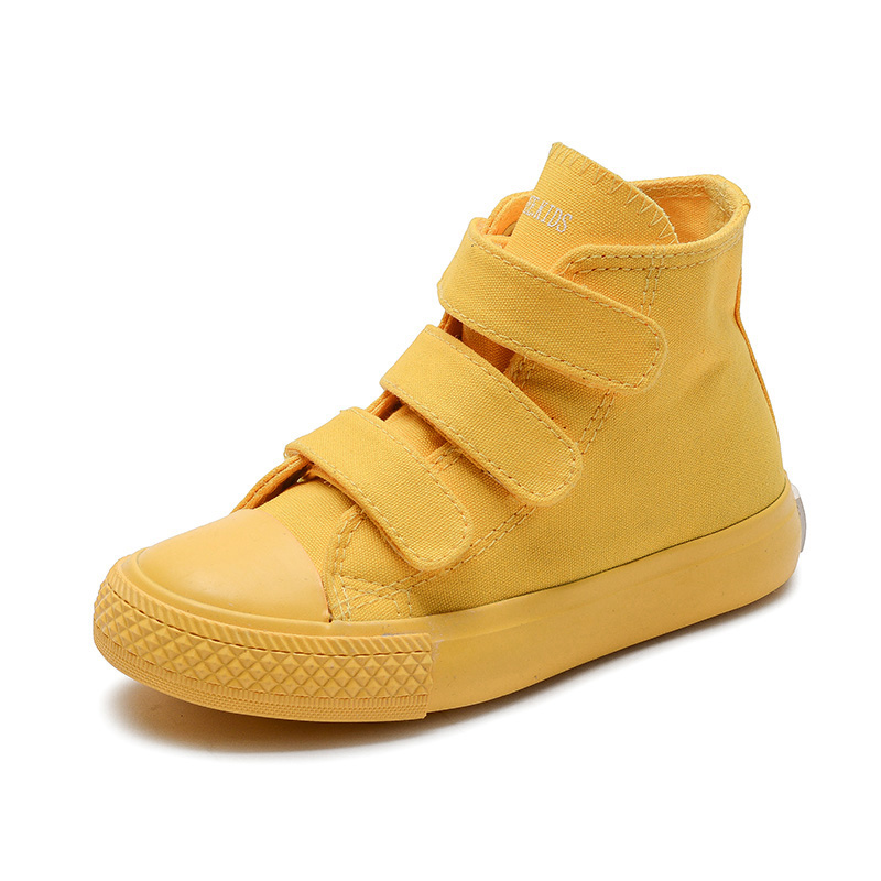 Image 2 - Kids Canvas Casual Shoes Children High Top Canvas Shoes Boy Girl Sneakers Kids Colorful Shoes Summer Breathable Chaussure Enfant-in Sneakers from Mother & Kids